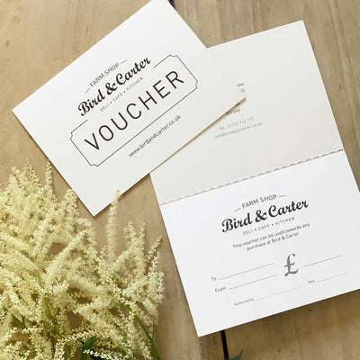 Bird & Carter Gift Vouchers