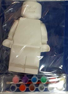 Large ceramic figure painting kit