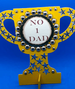No 1 Dad Trophy Kit