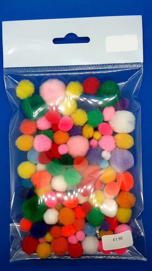 Pack of Pom Poms