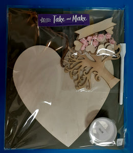 Wooden Heart Kit - Family