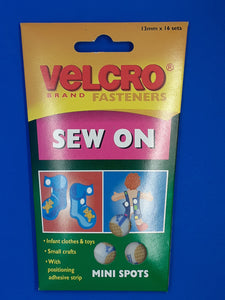 Velcro Sew On Mini Spots