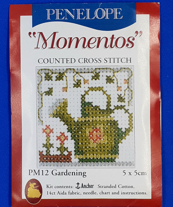 Momentos Gardening Cross Stitch Kit