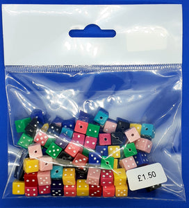 Pack of Dice Beads