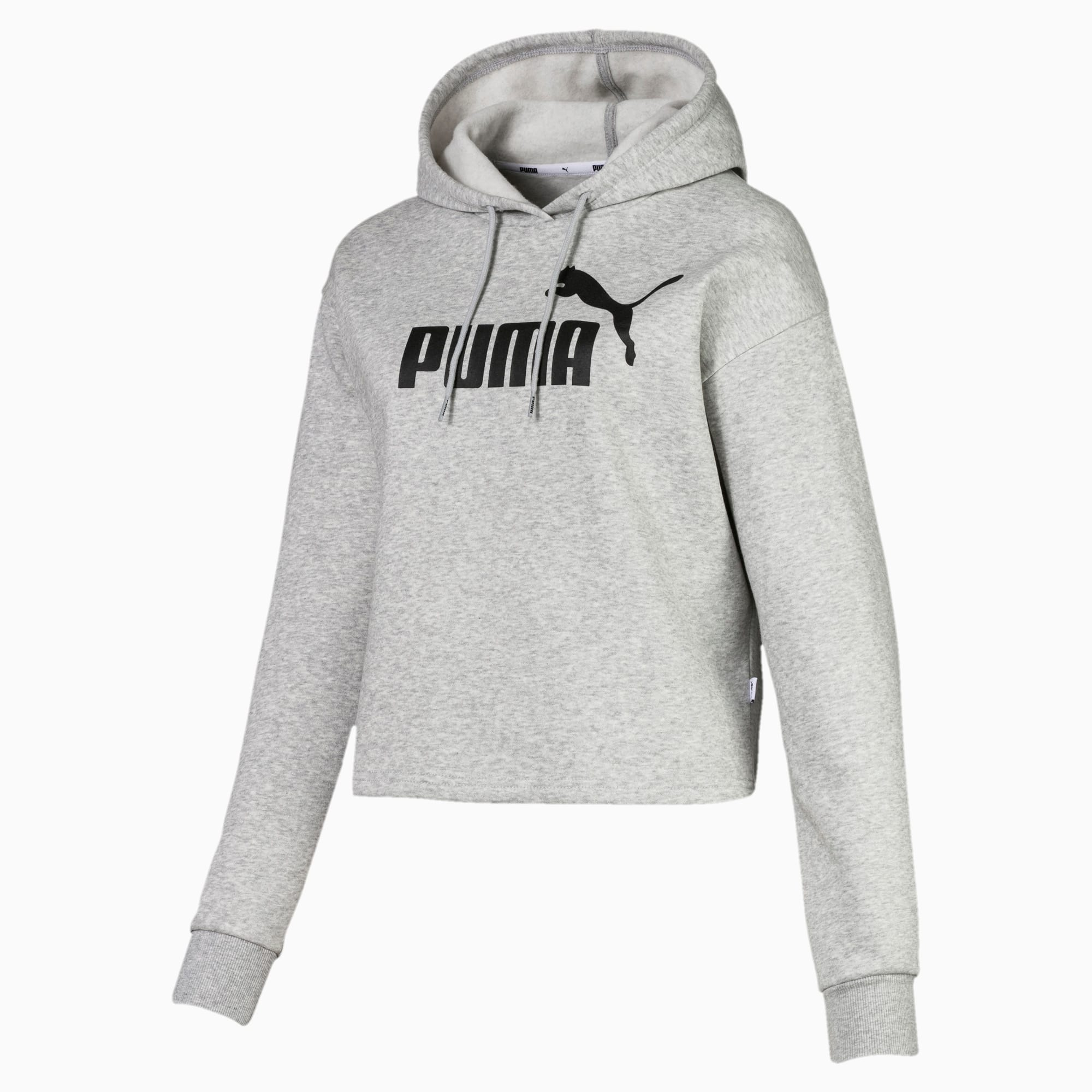 Puma Essentials Cropped Women's Hoodie - Valley Sports UK