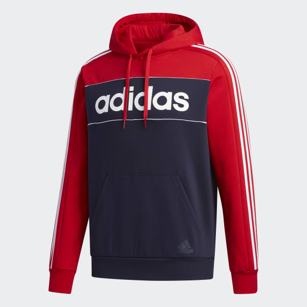 ADIDAS ESSENTIALS HOODED SWEATSHIRT - Valley Sports UK