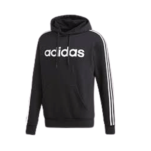 Adidas Essential 3S Pullover Fleece Hoodie - Valley Sports UK