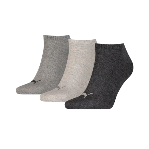 PUMA 3 PAIR NO SHOW SOCKS