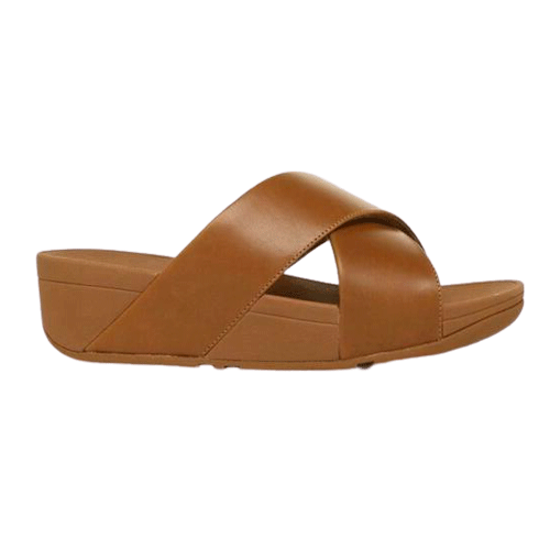 Fitflop Womens Lulu Leather Slides