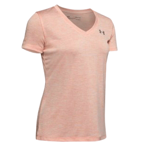 Under Armour Womens Twist Tech V Neck T-Shirt - Valley Sports UK