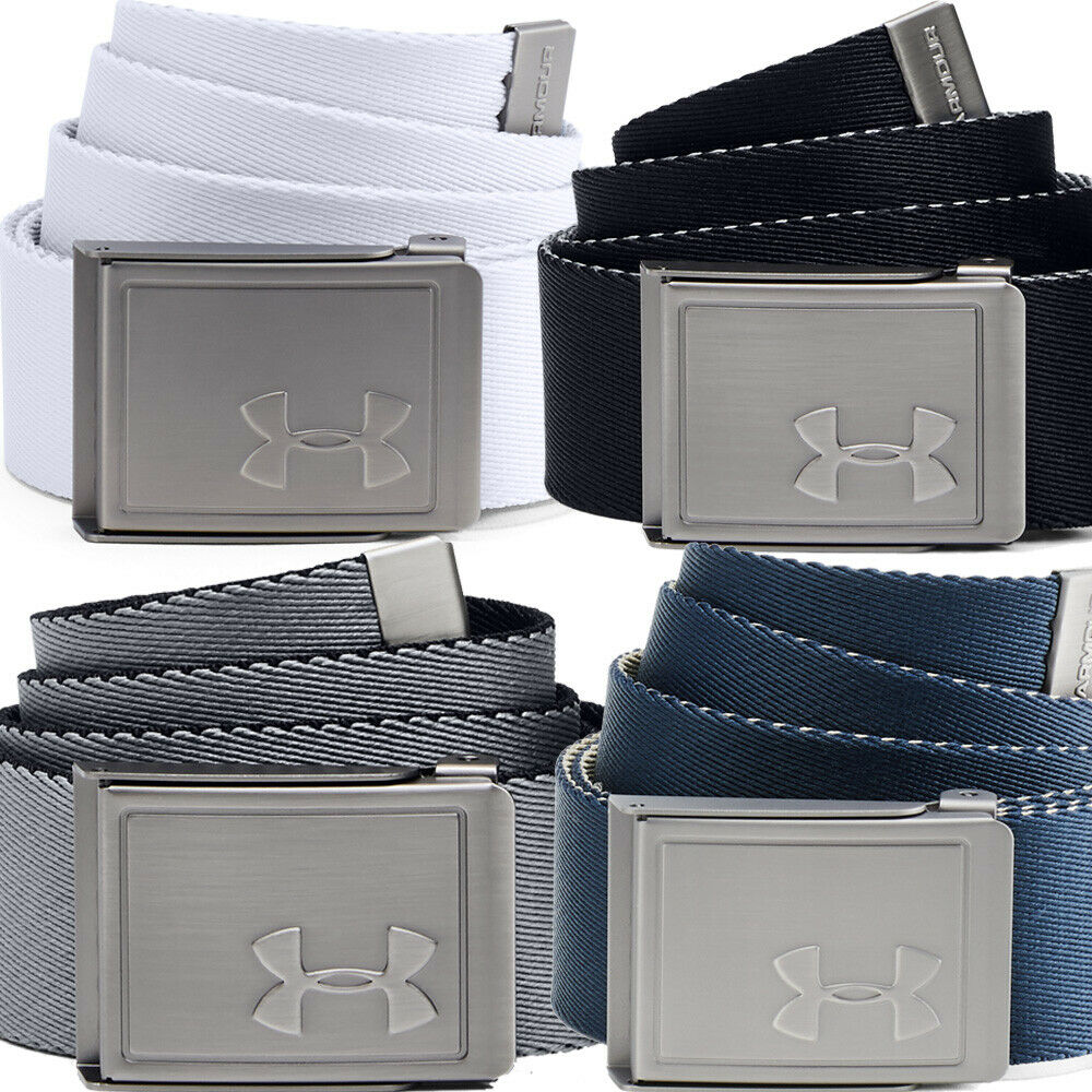 Under Armour Men's Reversible Webbing 2.0 Golf Belt - One Size Fits All - Valley Sports UK