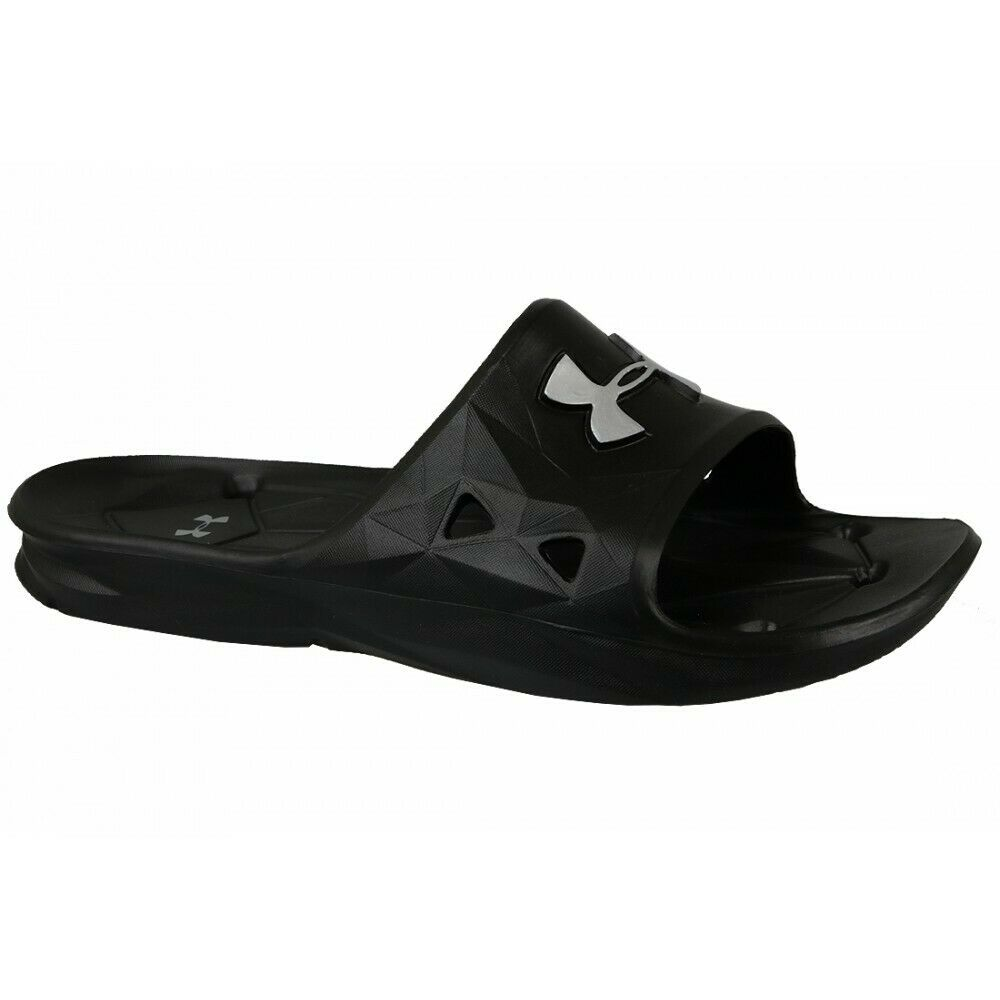 Under Armour Mens Locker III Slides - Valley Sports UK