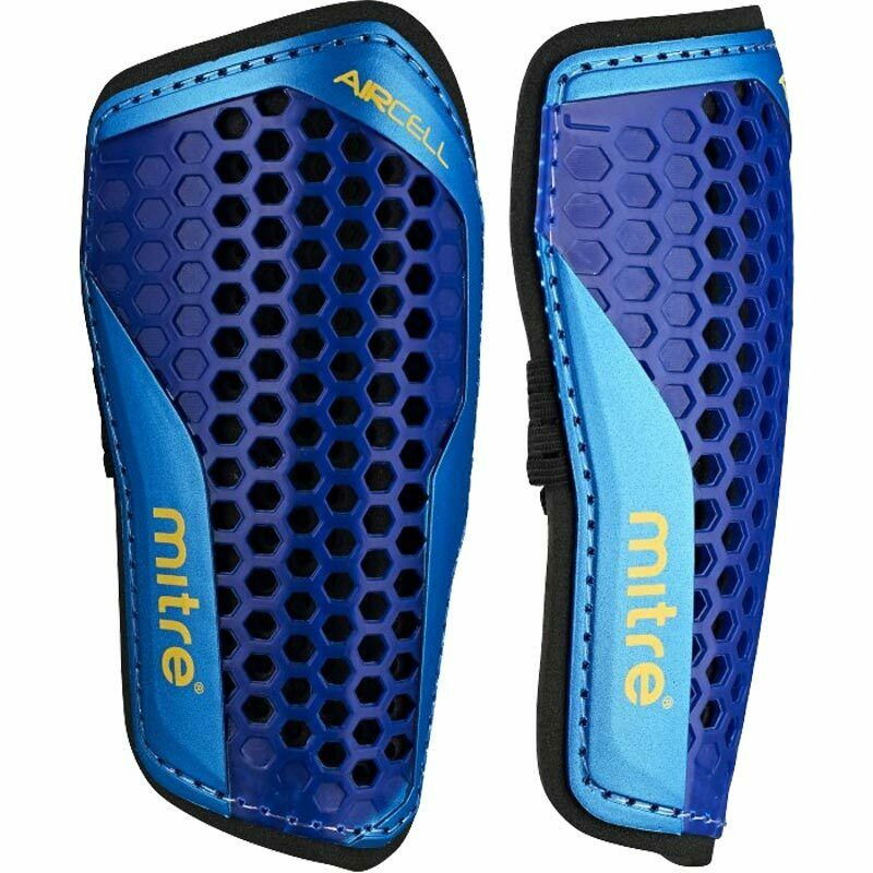 MITRE Football Shinguard Slip In Youth Aircell Shinpad - Valley Sports UK