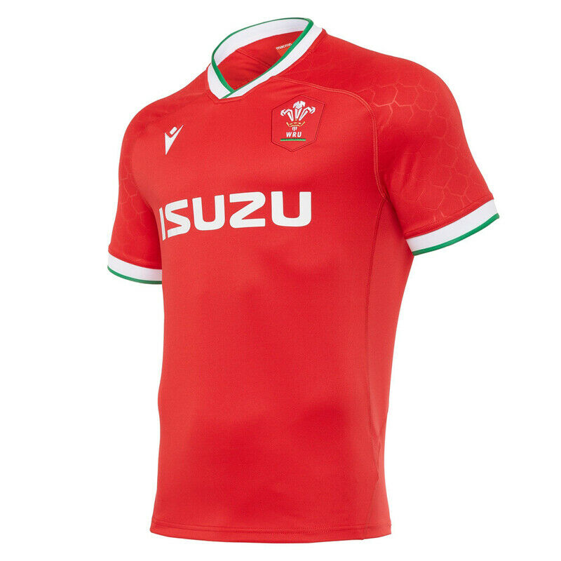 Replica Welsh Rugby children's home shirt - Valley Sports UK