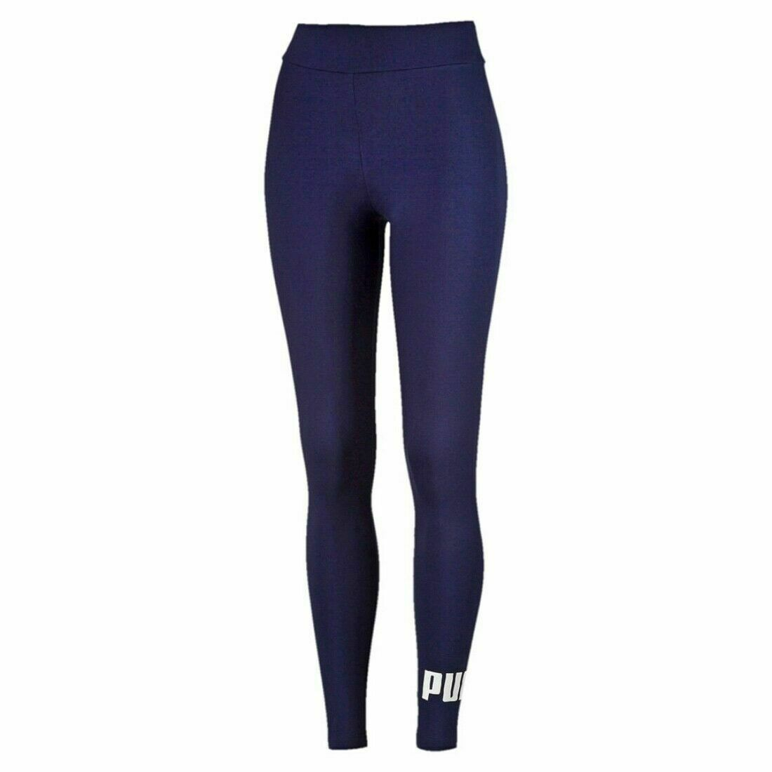 PUMA WOMEN ESS LOGO LEGGINGS - Valley Sports UK