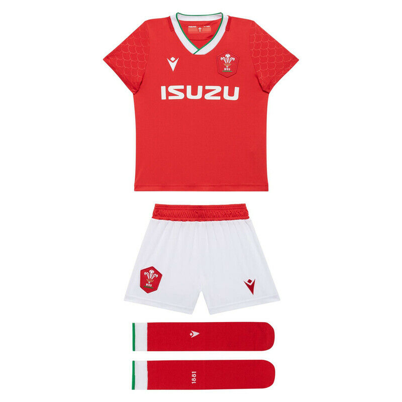 Wales Rugby Children's Home Kit - Valley Sports UK