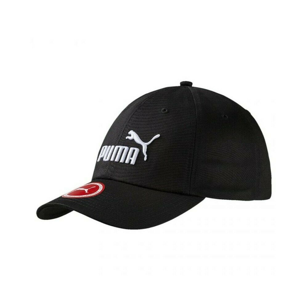 Puma Mens Logo Curved Baseball Cap - Valley Sports UK