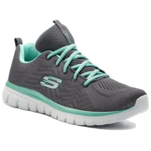 Womens Skechers Gracefull-Get Connected Sports Gym Trainers