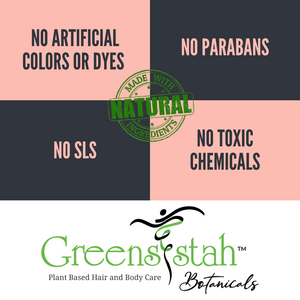 GreenSistah™ Botanicals Hair Kit for Thinning Hair - Deluxe Version with Tresses Tea