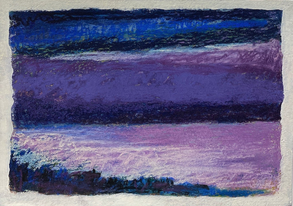 Coastal Eve, Purple