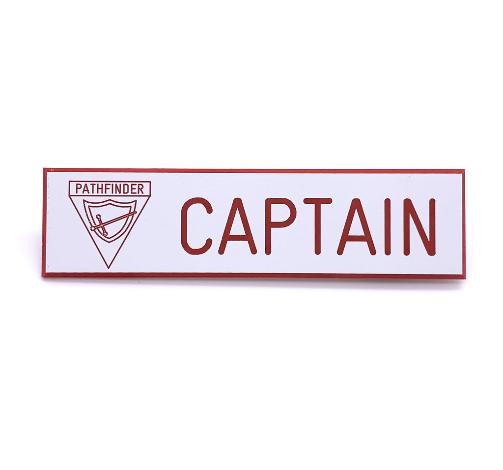 Pathfinder Captain Pin