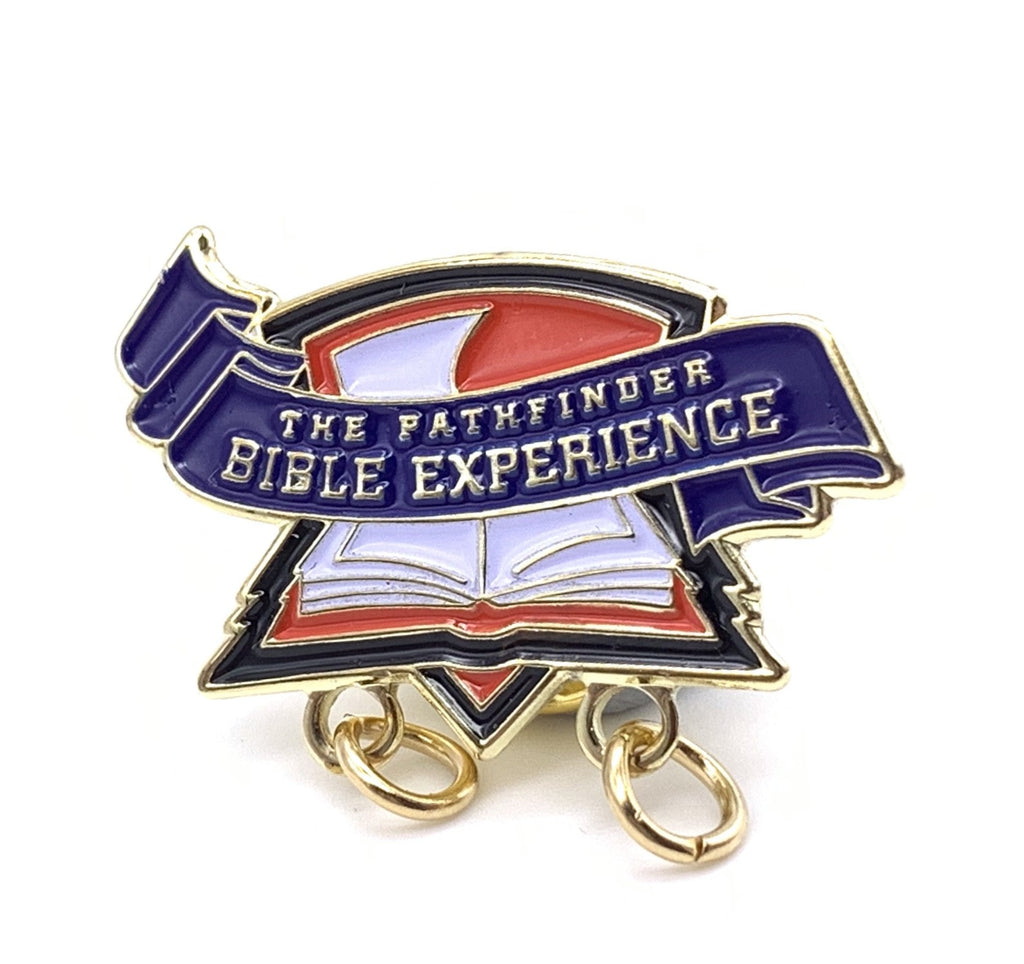 Pathfinder Bible Experience Pin for Participants