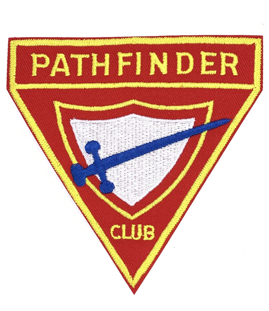 "Pathfinder Emblem Patch Large 4"" / 10cm"