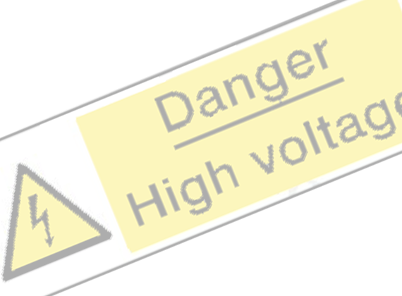 Electical Hazard Safety Signs