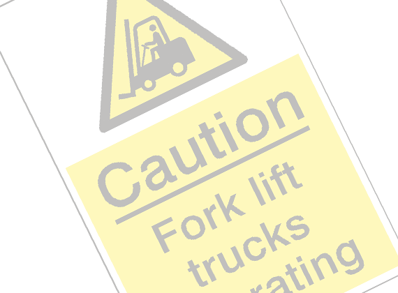 Machinery & Workshop Hazard Signs
