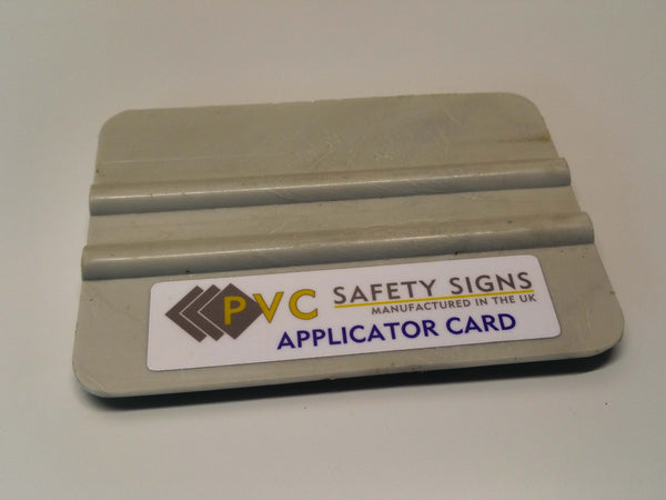 Budget Squeegee Tool | PVC Safety Signs
