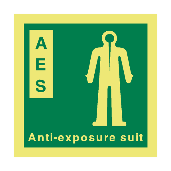 AES IMO Safety Sign