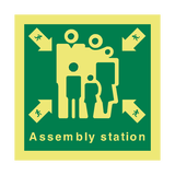Assembly Station Safety Sign