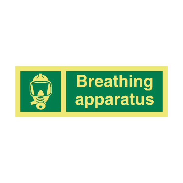 Breathing Apparatus IMO Sign