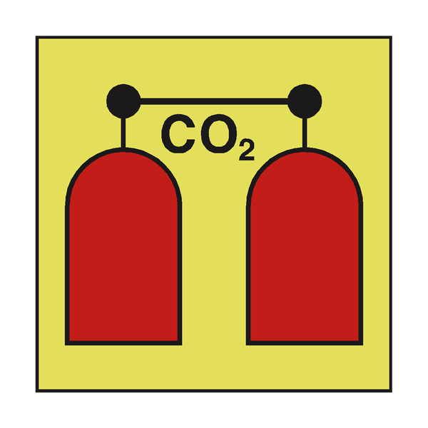 CO2 RELEASE STATION IMO SIGN