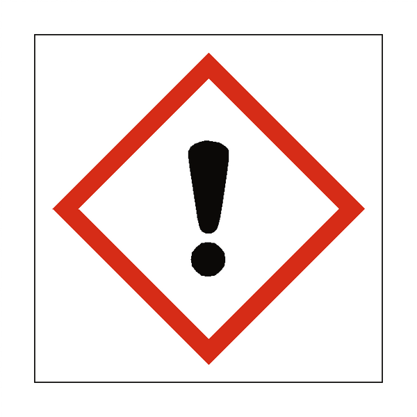 Caution COSHH Sign | PVC Safety Signs
