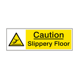 Slippery Floor Caution Sign | PVC Safety Signs