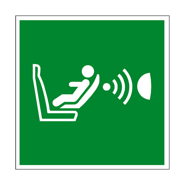 Child Seat Prescence CPOD Symbol Sign