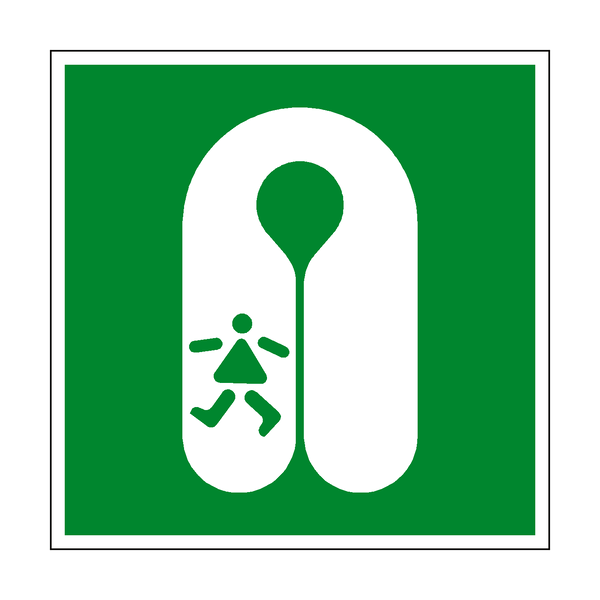 Childs Life jacket Symbol Sign