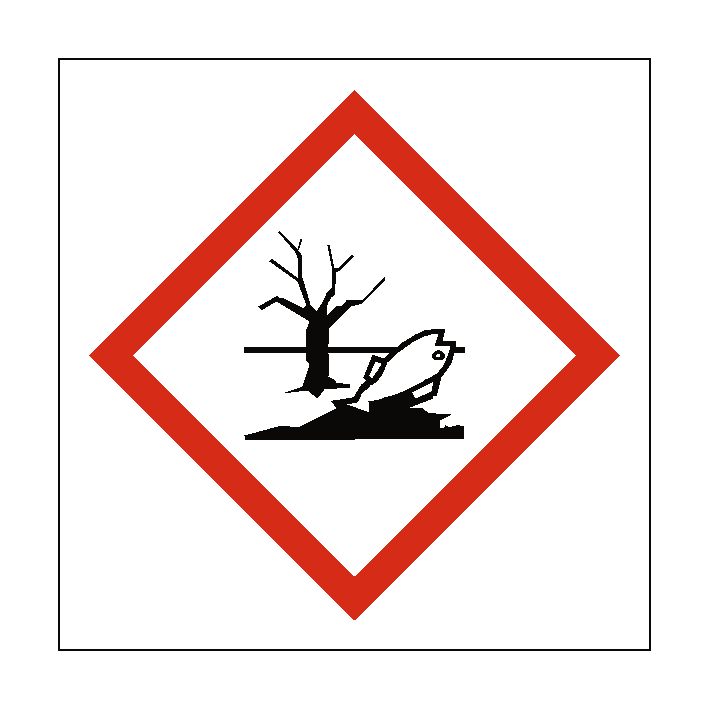 Dangerous To The Environment COSHH Sign   PVC Safety Signs