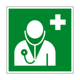 Doctor Symbol Sign - PVC Safety Signs