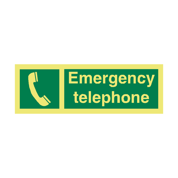 Emergency Telephone IMO Sign | PVC Safety Signs