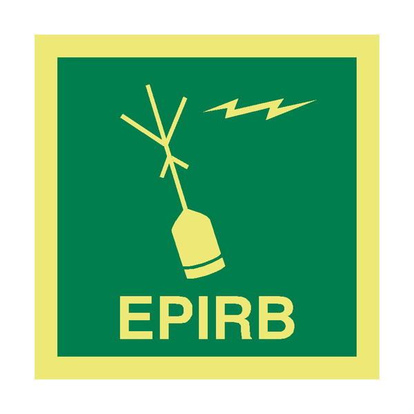 EPIRB IMO Safety Sign | PVC Safety Signs