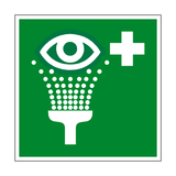 Eyewash Station Symbol Sign | PVC Safety Signs