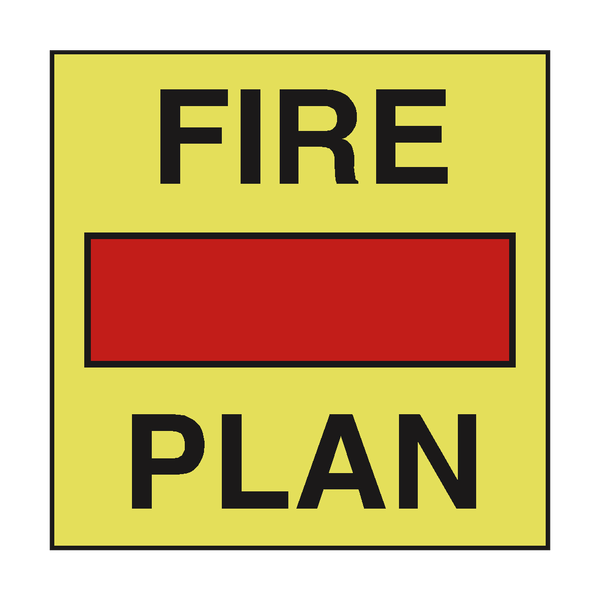 FIRE SAFETY CONTROL PLAN SIGN
