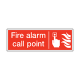Fire Alarm Call Point Safety Sign | PVCSafetySigns.co.uk