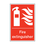 Fire Extinguisher Sign | PVCSafetySigns.co.uk
