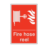 Fire Hose Reel Sign | PVCSafetySigns.co.uk