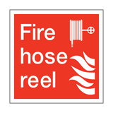 Fire Hose Reel Square Sign | PVCSafetySigns.co.uk