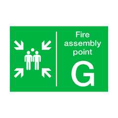 Fire Assembly Point G Sign
