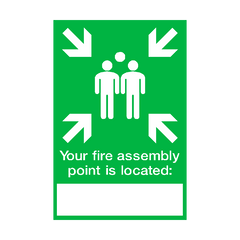Fire Assembly Location Point Sign